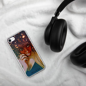 Cosmic Crown iPhone Case