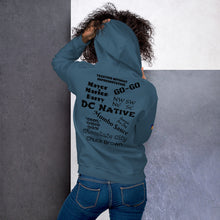Load image into Gallery viewer, D.C. Raised Me Unisex Hoodie (flag on front)