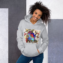 Load image into Gallery viewer, Beautiful Flower Unisex Hoodie