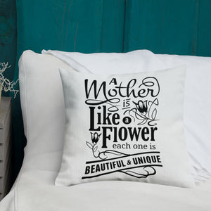 Mom Facts Premium Pillow