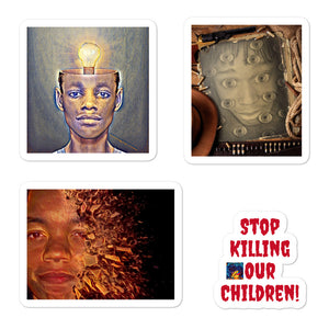 Stop Killing Our Children stickers