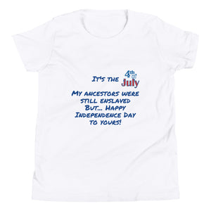 Happy 4th of July Kids unisex T-Shirt
