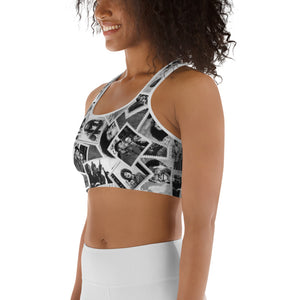 Power to the People Sports bra
