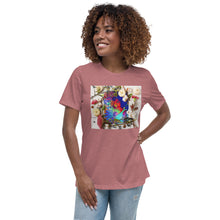 Load image into Gallery viewer, Beautiful Flower Women's Relaxed T-Shirt