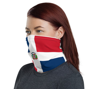 Dominican flag neck gaiter ( face mask )