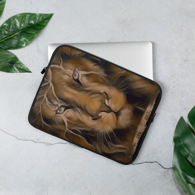 King Lion Laptop Sleeve