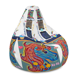 H By T Unicorn Bean Bag Chair w/ filling