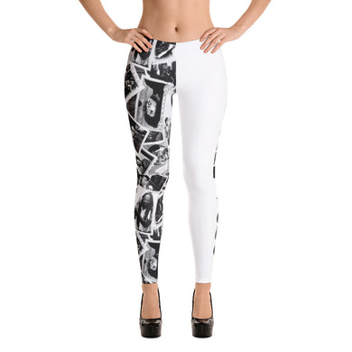 Power to the People women's Leggings (white)