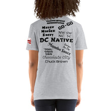 Load image into Gallery viewer, D.C. Raised Me Economy Unisex T-Shirt (flag on sleeve)