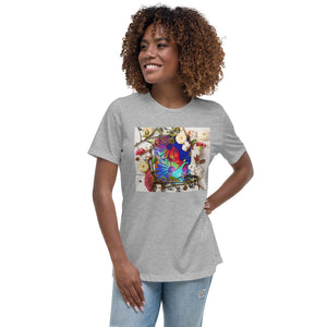 Beautiful Flower Women's Relaxed T-Shirt