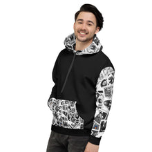 Load image into Gallery viewer, Power to the People Unisex Hoodie (print outside & inside hood)
