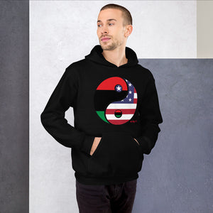 H By T Yin Yang Unisex Hooded Sweatshirt