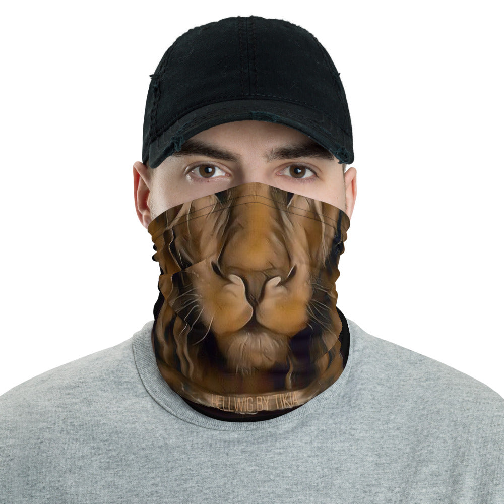 King Lion neck gaiter ( face mask )
