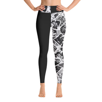 Power to the People Yoga/Sport Leggings (black)