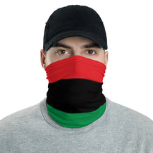 Load image into Gallery viewer, African American RBG flag neck gaiter ( face mask )