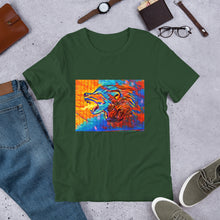 Load image into Gallery viewer, Fire Wolf Unisex T-Shirt