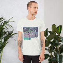 Load image into Gallery viewer, Hoop Dreams with Dad Unisex T-Shirt