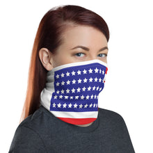 Load image into Gallery viewer, American flag neck gaiter