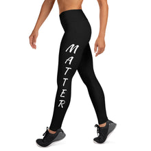 Load image into Gallery viewer, Black Lives Matter Yoga Leggings
