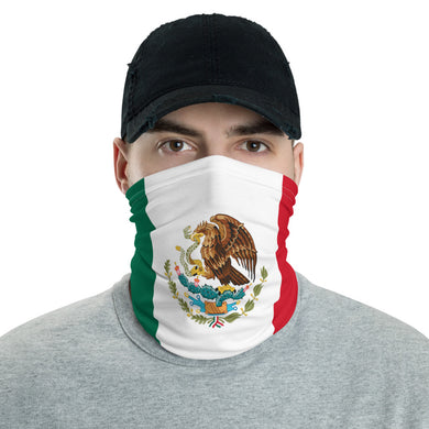 Mexican flag neck gaiter