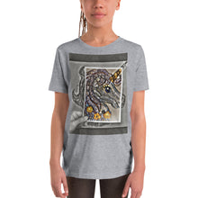 Load image into Gallery viewer, Customizable Kids Unisex T-Shirt (Front pic, Back text)