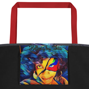 Power and Revolution Beach Bag