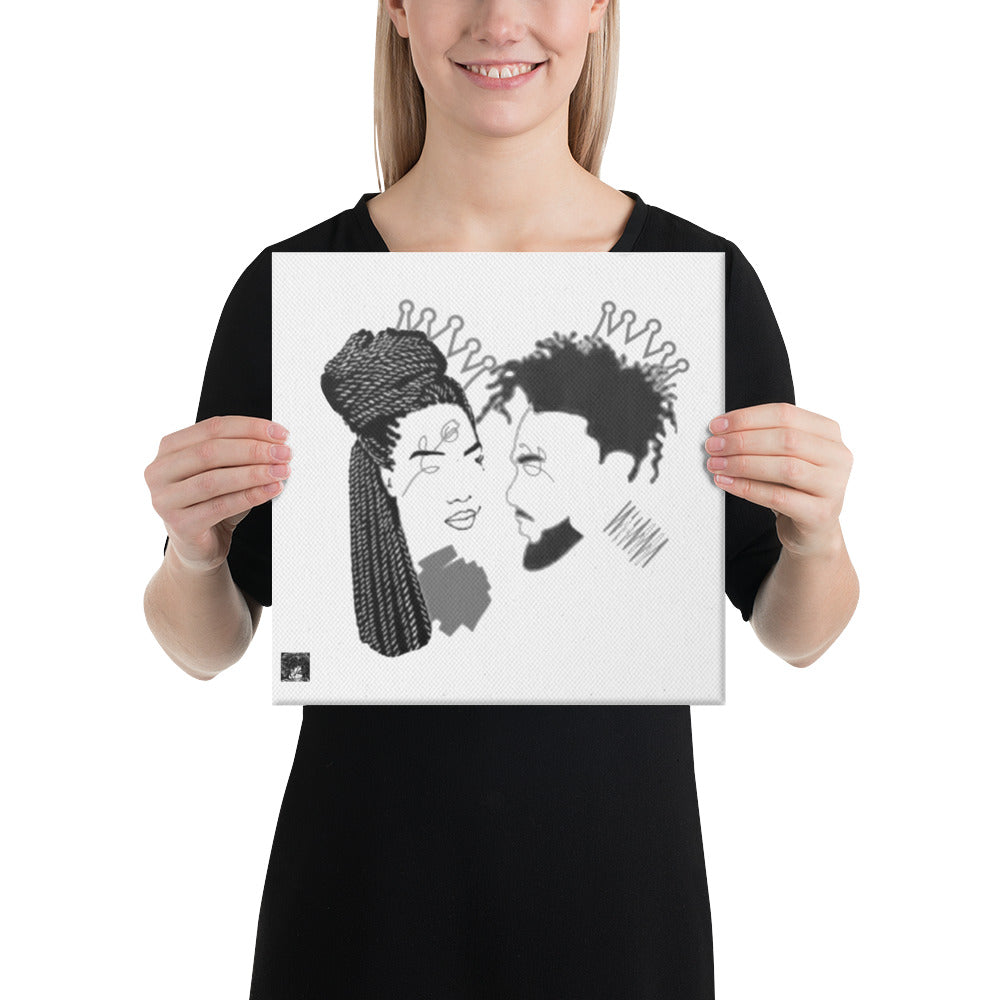 Crown Us Canvas (white background)