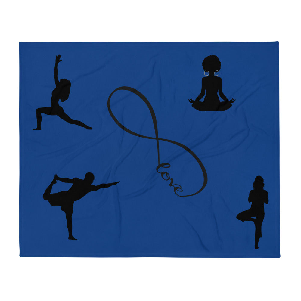 Eternal Love Yoga Throw Blanket