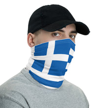 Load image into Gallery viewer, Greek flag neck gaiter