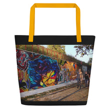 Load image into Gallery viewer, Hellwig Signature Graffiti Beach Bag
