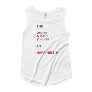 The W.A.Y. Women's Cap Sleeve T-Shirt
