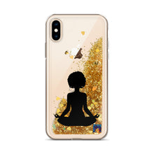 Load image into Gallery viewer, Goddess Liquid Glitter Phone Case