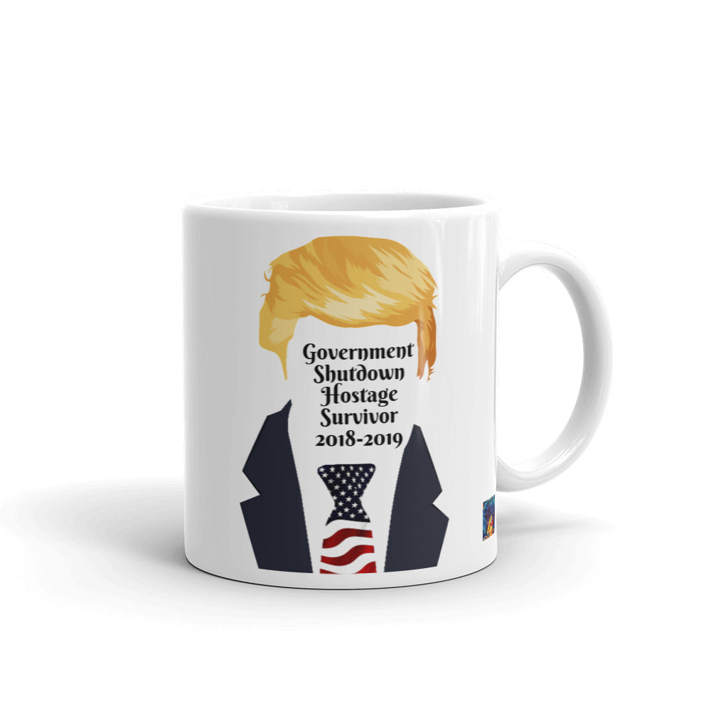 Trump Government Shutdown Mug