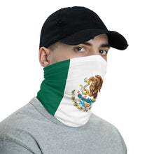 Load image into Gallery viewer, Mexican flag neck gaiter