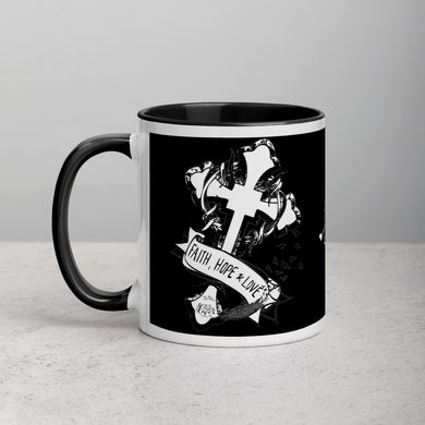 1 Corinthians 13:13 Mug with Color Inside