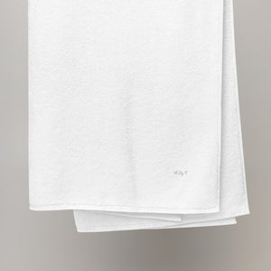 H by T Oversized Turkish cotton towel