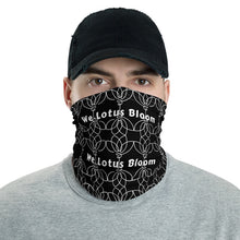Load image into Gallery viewer, We Lotus Bloom neck gaiter