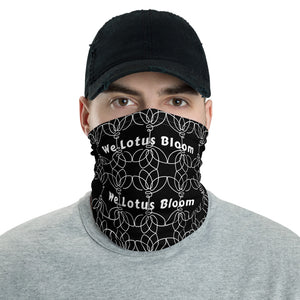 We Lotus Bloom neck gaiter