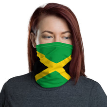 Load image into Gallery viewer, Jamaican flag neck gaiter