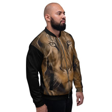 Load image into Gallery viewer, King Lion Unisex Bomber Jacket