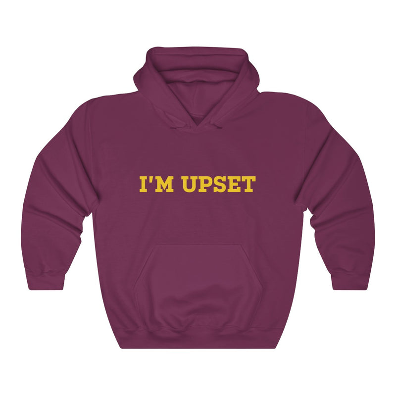I'm Upset Drizzy Drake Scorpion Inspired Heavy Blend™ Hoodie-Maroon-S-Archethype