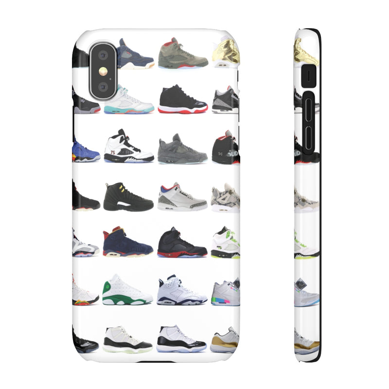 Jordan Sneakers inspired iPhone Snap Case-iPhone XS-Glossy-Archethype