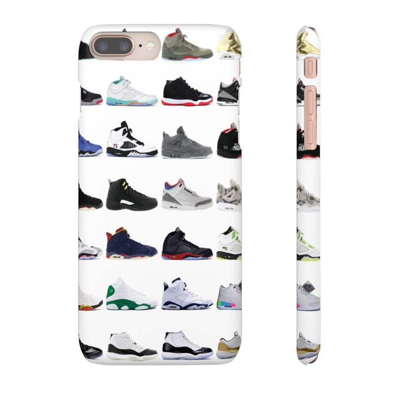 Jordan Sneakers inspired iPhone Snap Case-iPhone 8 Plus-Matte-Archethype