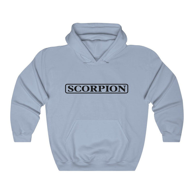 Scorpion Drizzy Drake Scary Hours Merch Inspired Heavy Blend™ Hoodie-Light Blue-S-Archethype