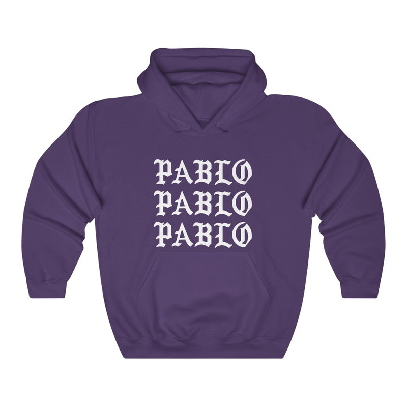 Pablo Heavy Blend™ Kanye West hoodie-S-Purple-Archethype