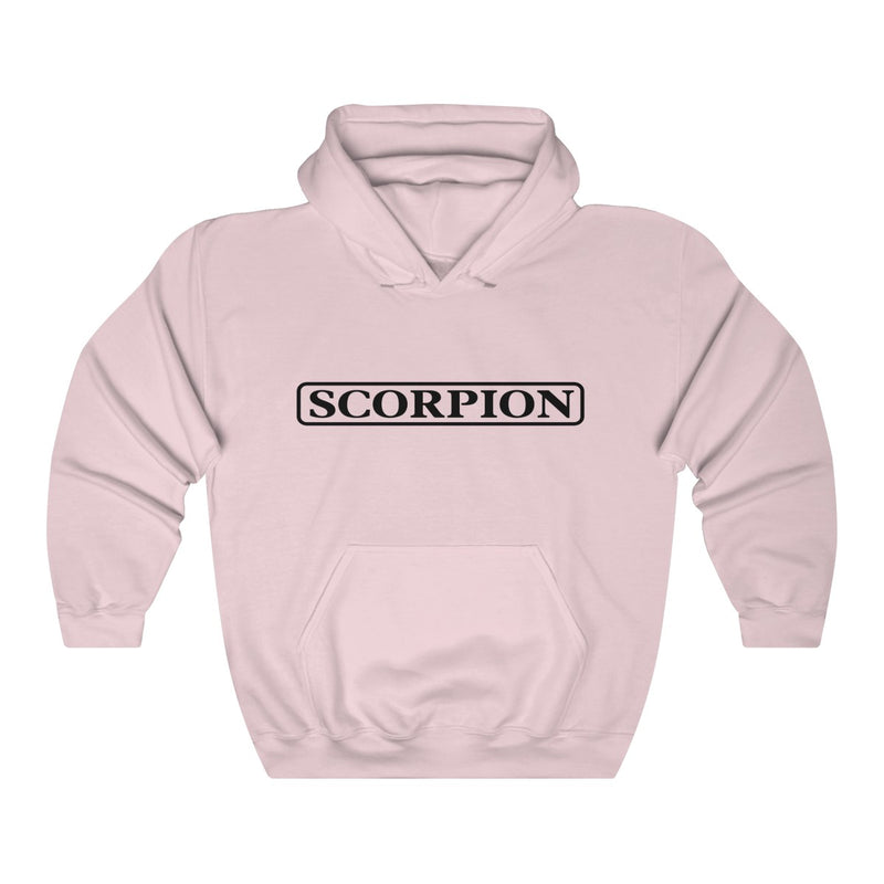 Scorpion Drizzy Drake Scary Hours Merch Inspired Heavy Blend™ Hoodie-Light Pink-S-Archethype