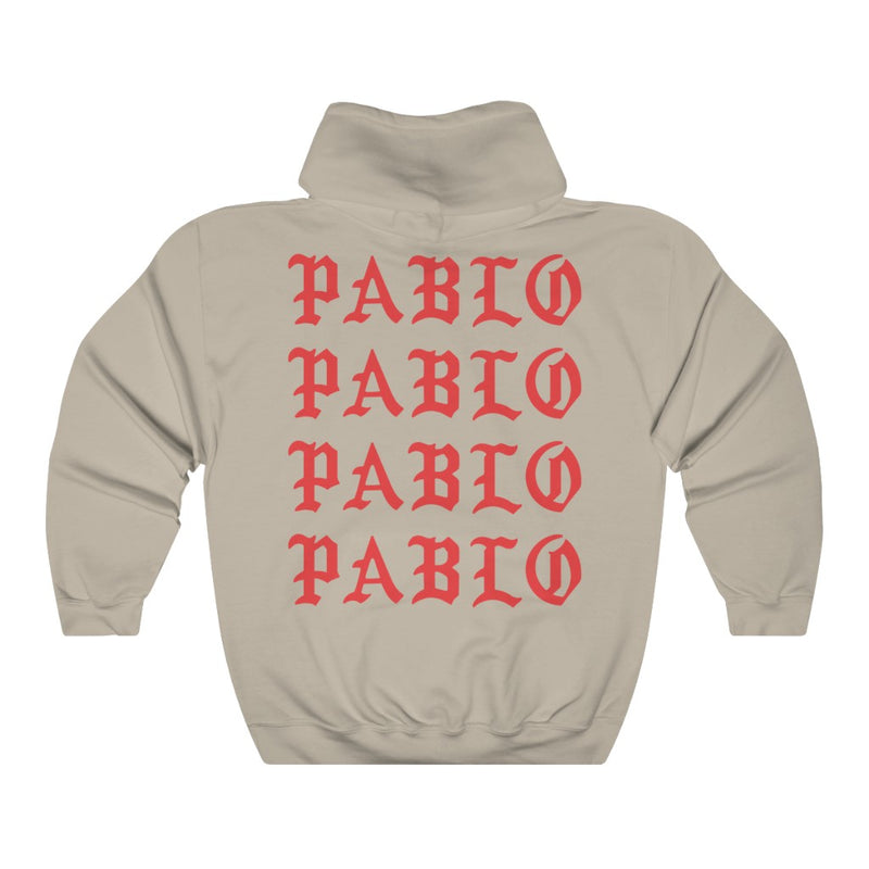 Paris I Feel Like Pablo Unisex Heavy Blend Hooded Sweatshirt hoodie Kanye West Merch TLOP Inspired-Archethype