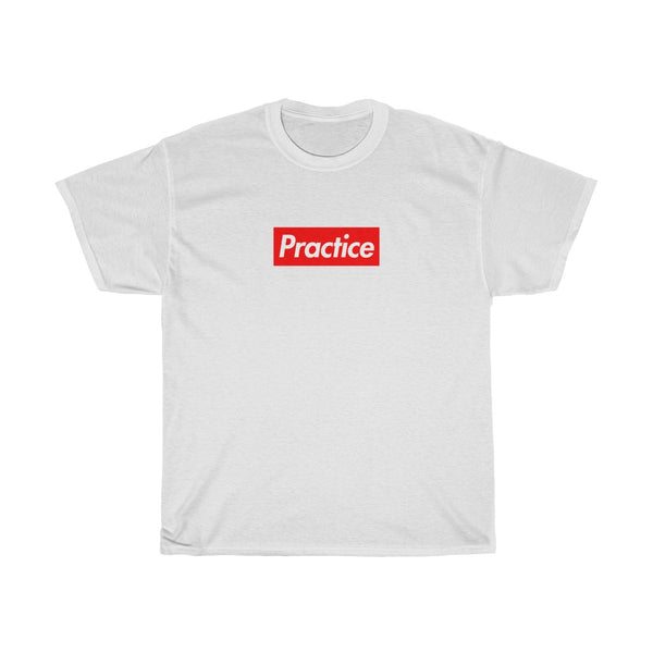 Practice Red Box Logo Tee