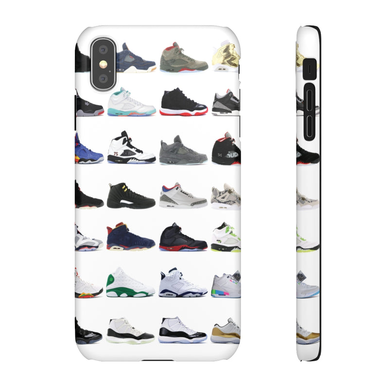 Jordan Sneakers inspired iPhone Snap Case-iPhone XS MAX-Matte-Archethype