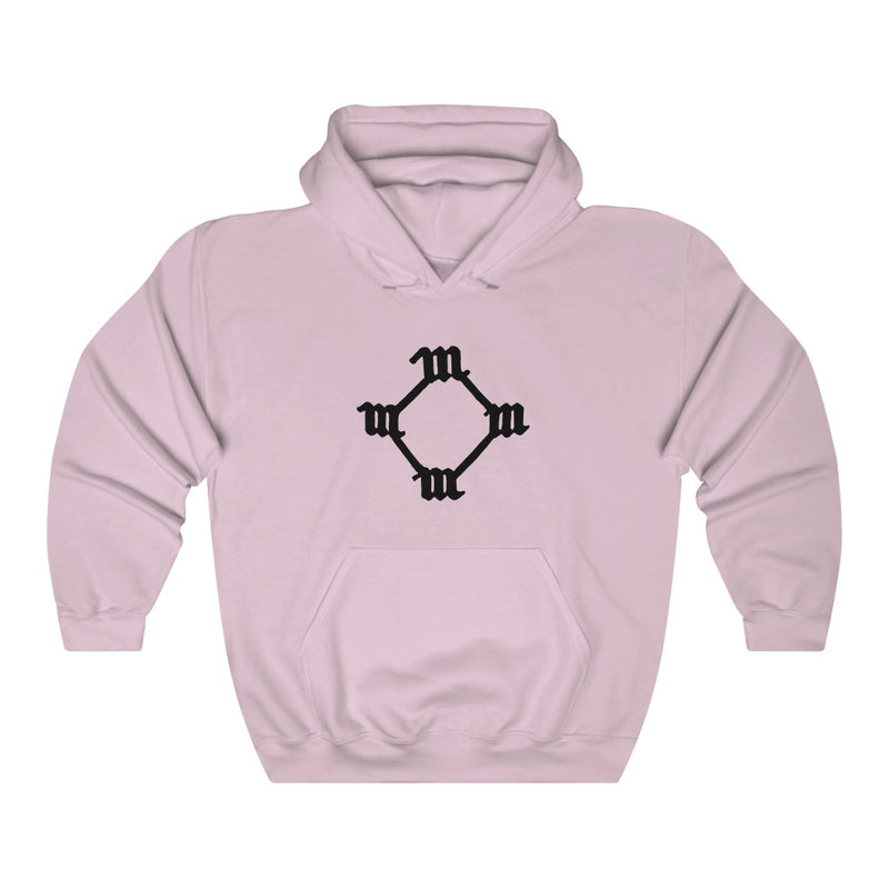 Four M Kanye West Tattoo Hoodie-S-Light Pink-Archethype